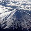 ただ今、富士上空