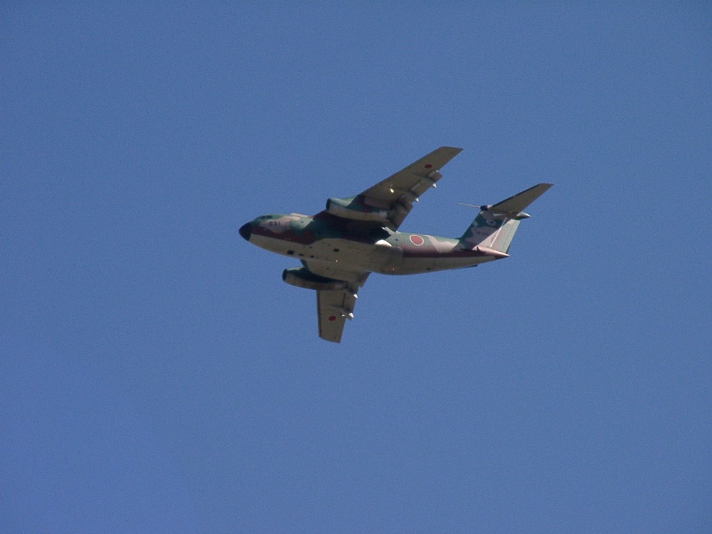 入間航空祭 C-1 飛行展示