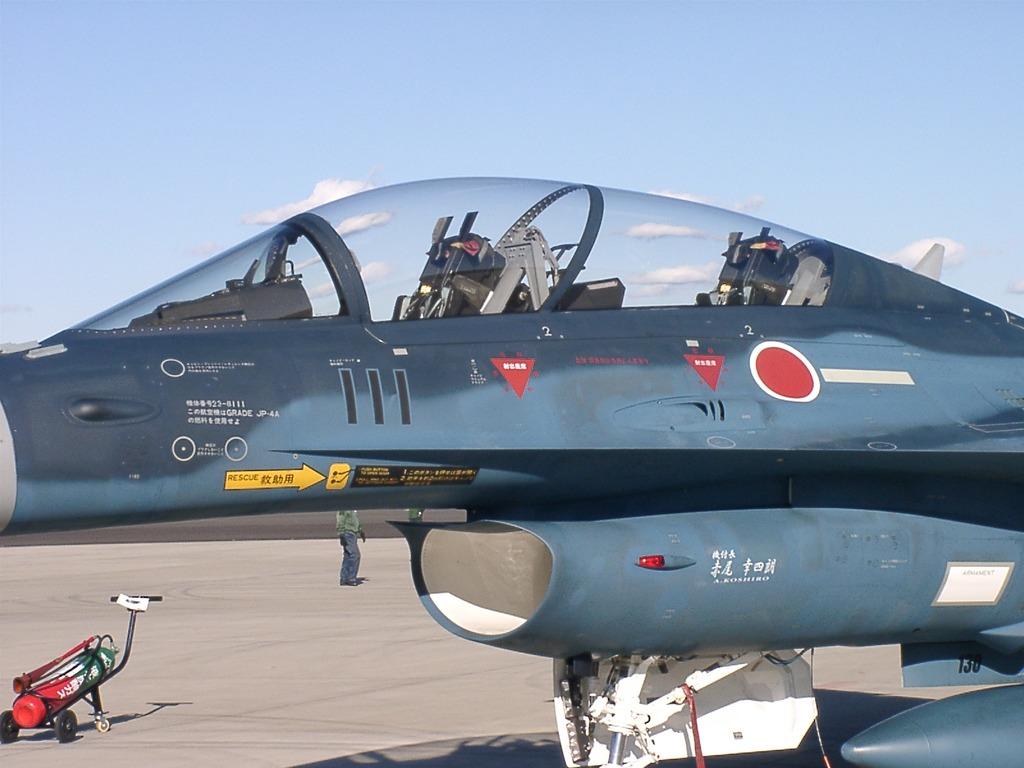 入間航空祭 F-2