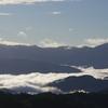 今朝の生石高原