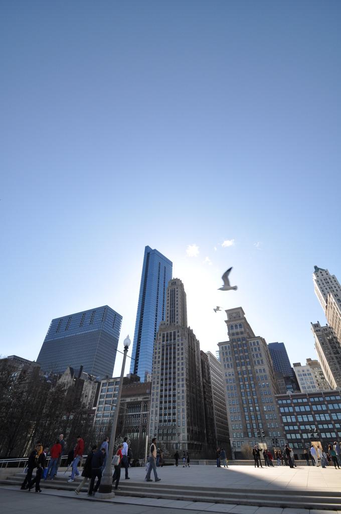 シカゴミレニアムパーク