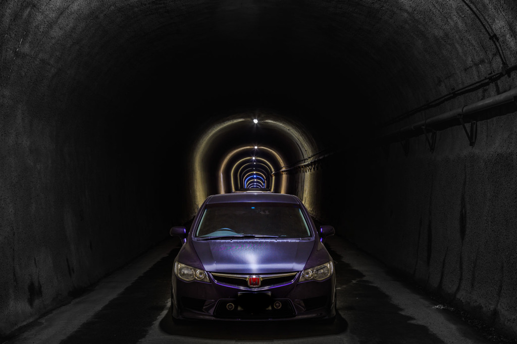 最近お気に入りのトンネル