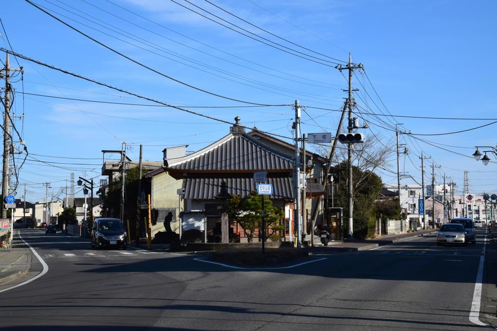 倉賀野宿の追分1
