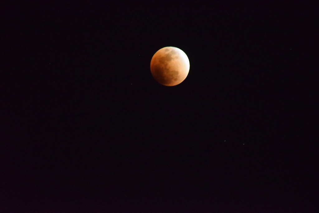 皆既月食を撮ってみた3