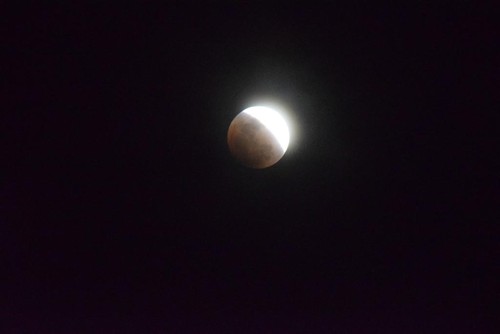 皆既月食を撮ってみた2