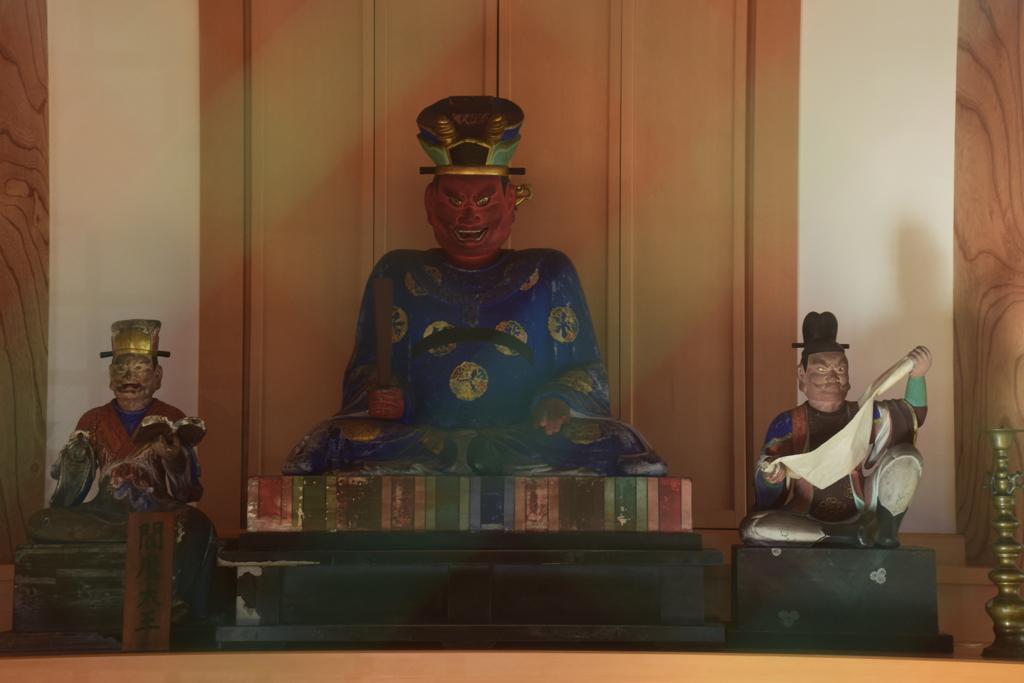 倉賀野宿の閻魔堂2