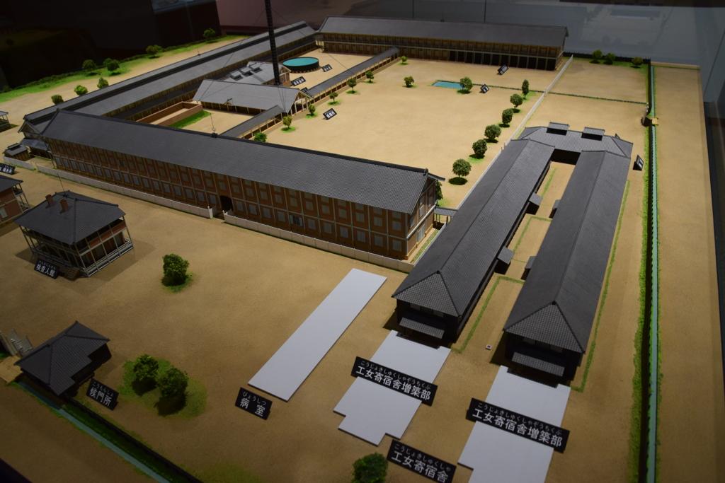 富岡製糸場 復元模型