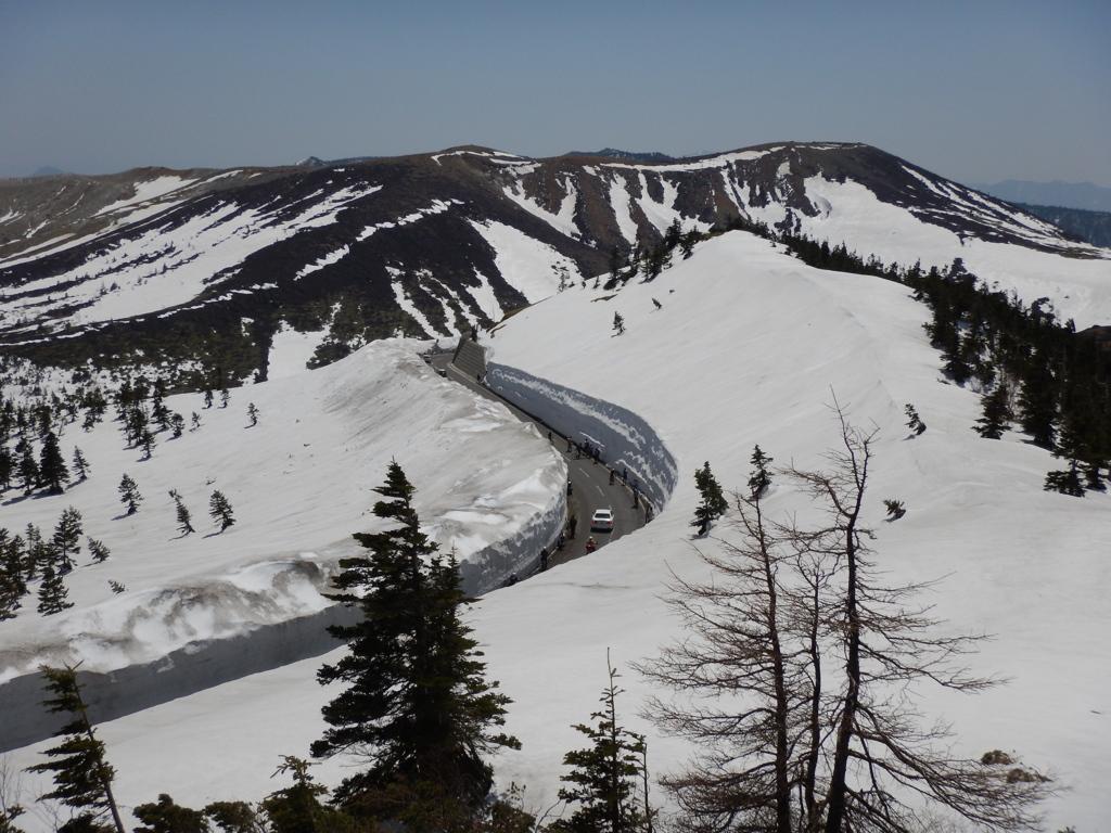 志賀草津道路 雪の回廊3