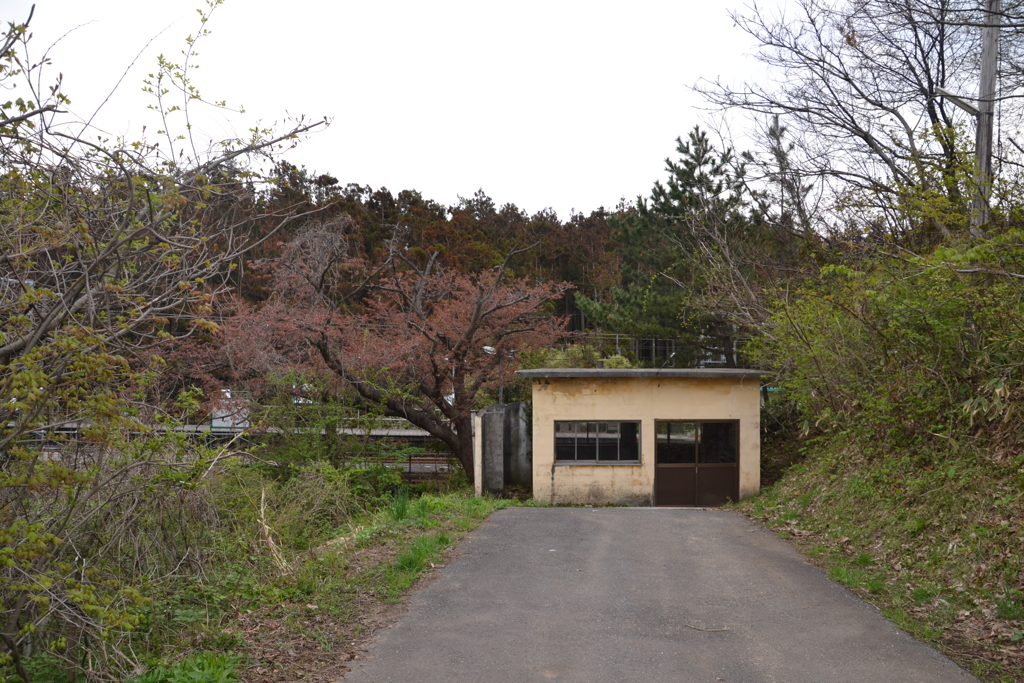 女鹿駅(2013年)1