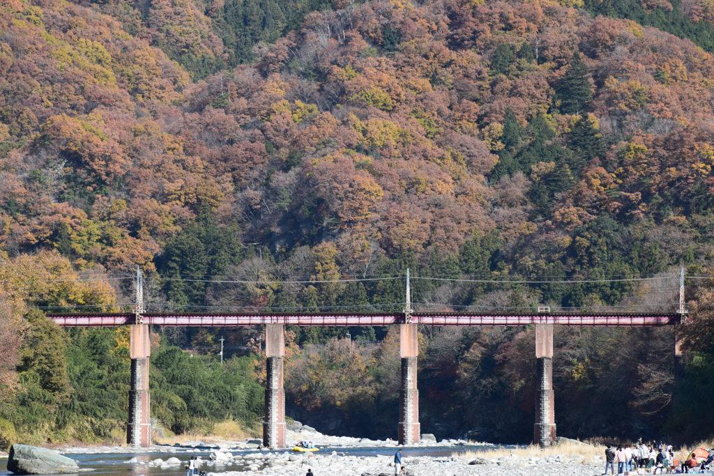 秩父鉄道の橋梁