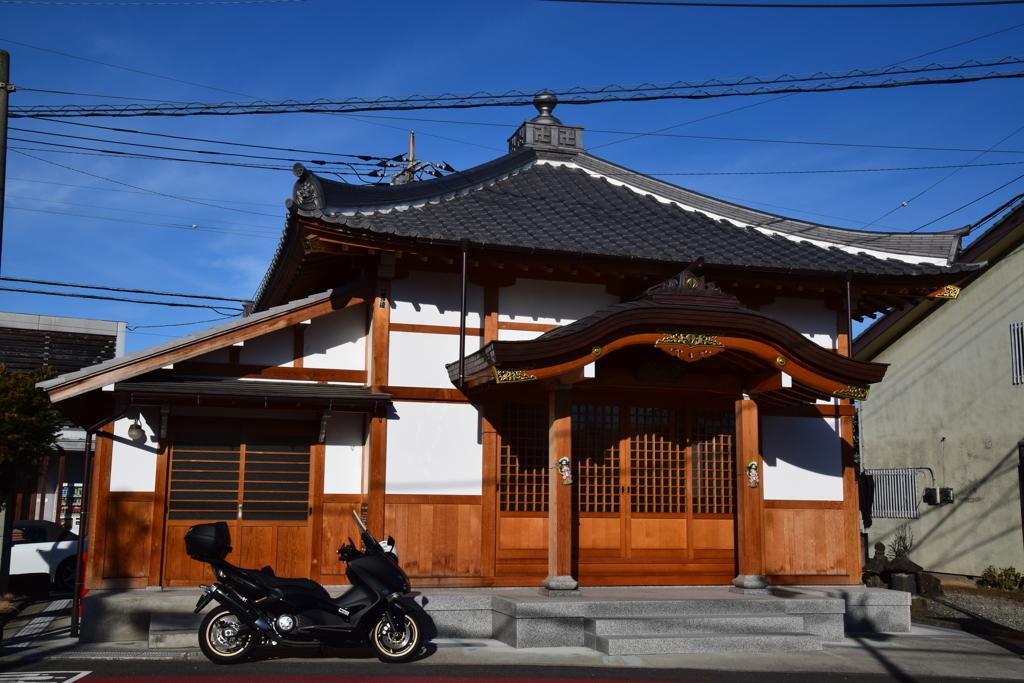 倉賀野宿の閻魔堂1