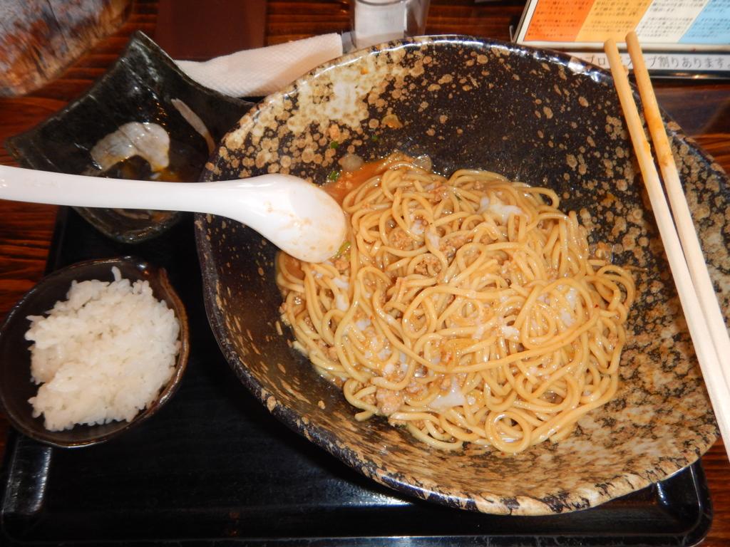 三ツ矢堂製麺 汁なし担々麺3