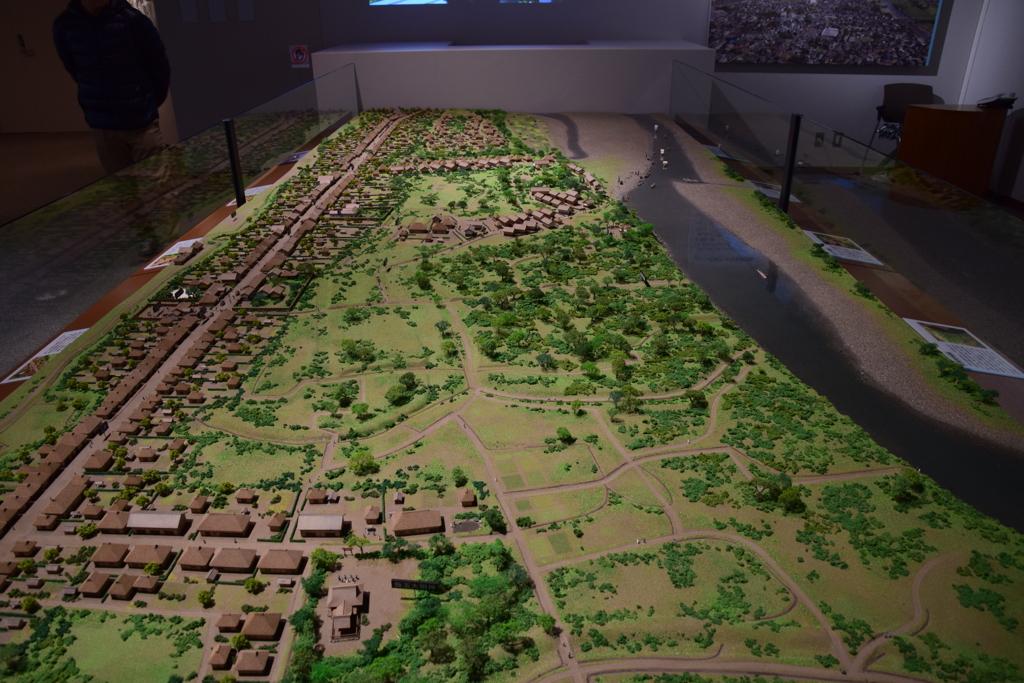倉賀野宿 復元模型1