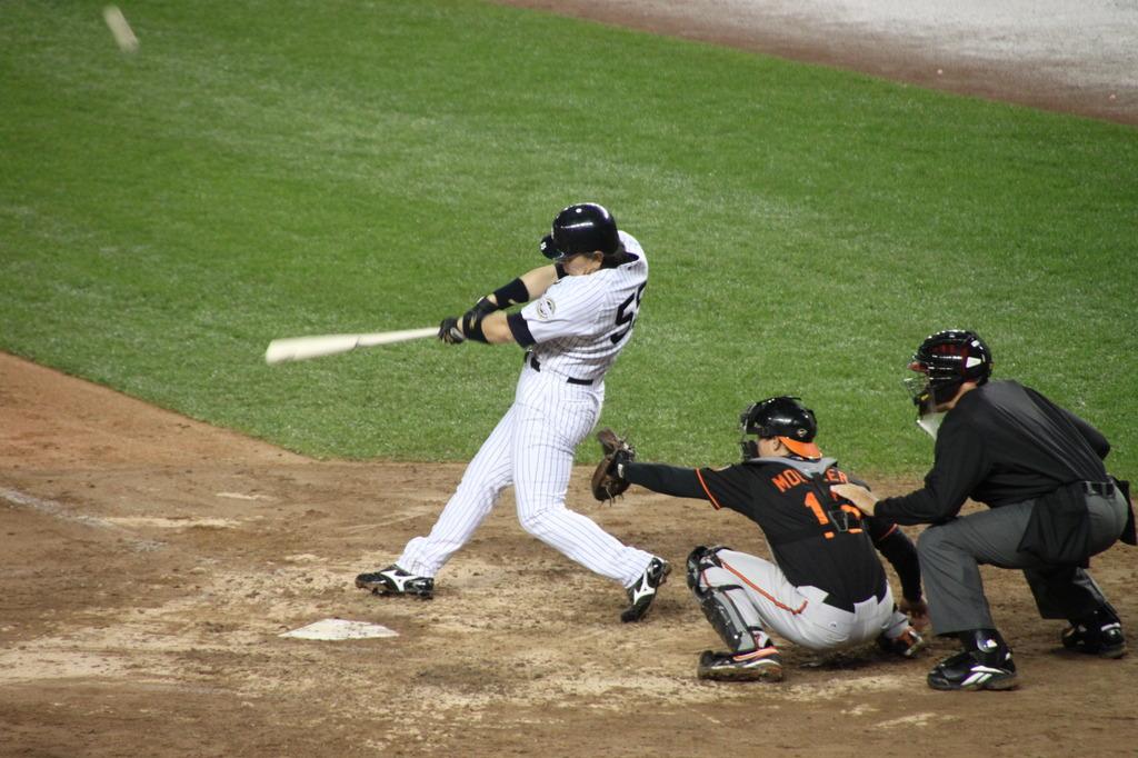松井55 at bat 55