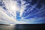 海峡を行く雲