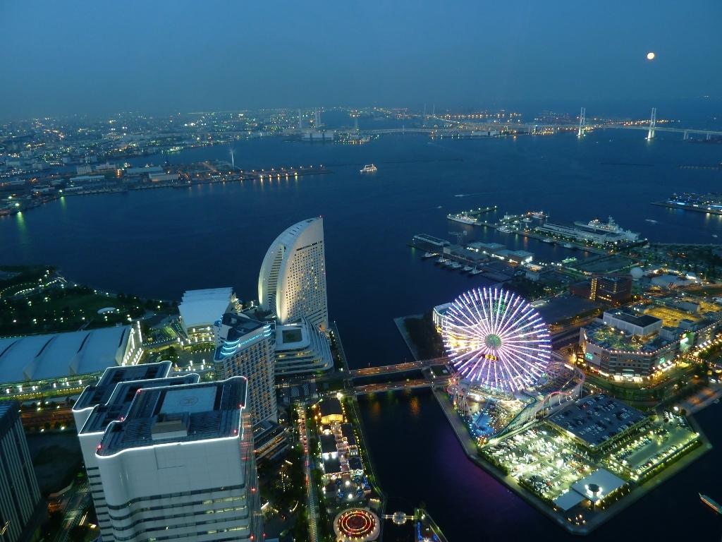 横浜の夜景@ランドマークタワー