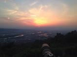 夕日が綺麗でした(^O^)/