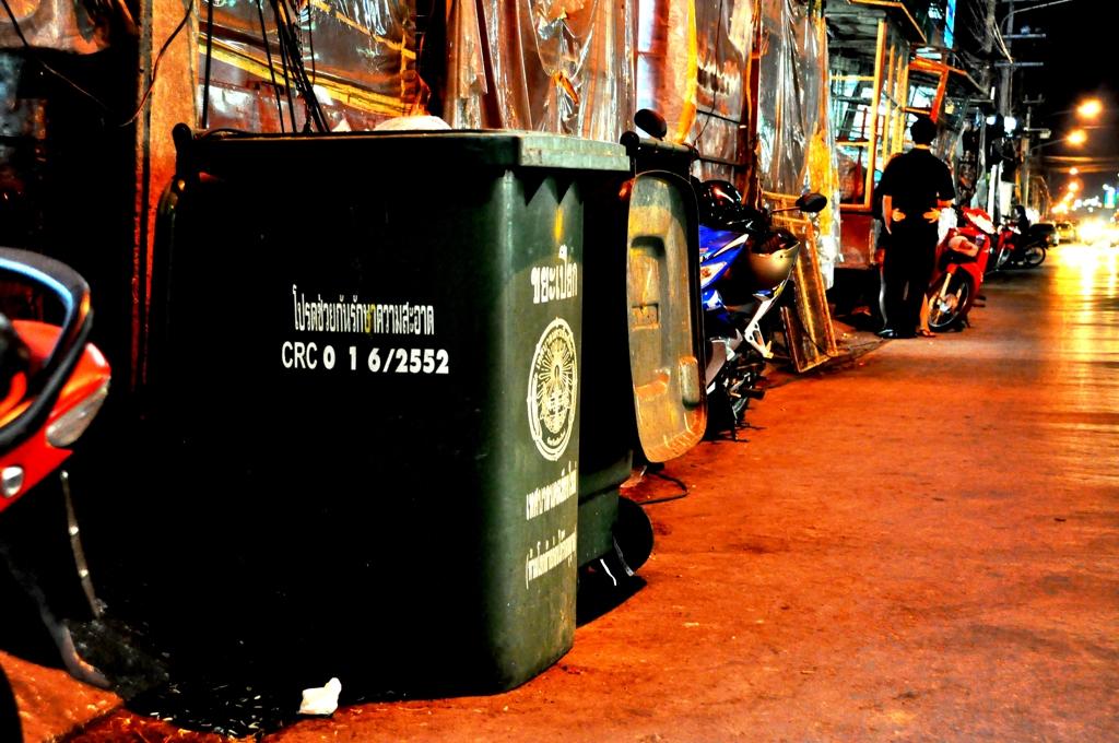 Dustbin at Chiang Mai