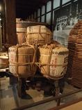 白鹿の酒樽