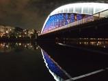 桜宮橋のライトアップその2
