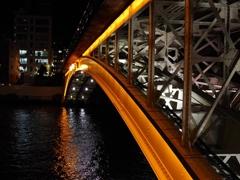 天神橋 ライトアップ
