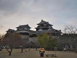 """松山城と""""よしあきくん"""""""