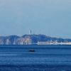 江ノ島の蜃気楼