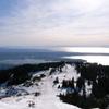 Grouse Mountainからのバンクーバーの眺め