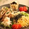 稲荷ばら寿司☆豚肉巻き ランチプレート