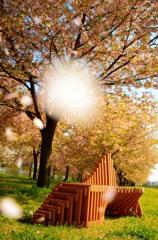 Obuse bench ♨︎