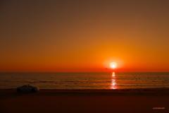 sunset at CHIRIHAMA