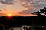 岬に日が沈む頃