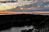 日が沈み…富士が見えました(^-^)