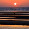 真玉海岸の夕景