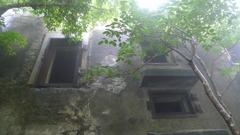 旧日本軍の廃墟