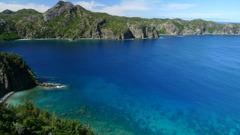 小笠原の海の色