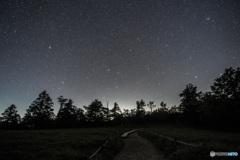 牛石ヶ原の夜