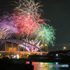 Yokkaichi fireworks festival 2015'