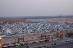 (中国)地方都市の街並み
