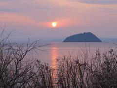 大好きな琵琶湖(竹生島)