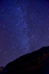 駒ケ岳からの登る天の川