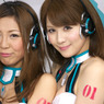 SONY DSLR-A700で撮影した人物(AYAMIさんと立花サキさん)の写真(画像)
