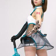 SONY DSLR-A700で撮影した人物(立花サキさん (2))の写真(画像)