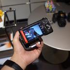 SONY NEX-5で撮影したインテリア・オブジェクト(NEX-5N + LA-EA2をホールド)の写真(画像)