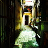 a back alley