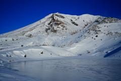 初冬の大雪山 旭岳2