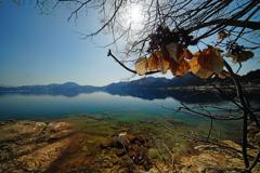 早春の田沢湖