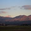 夕方の阿蘇山