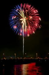 淀川の花火1