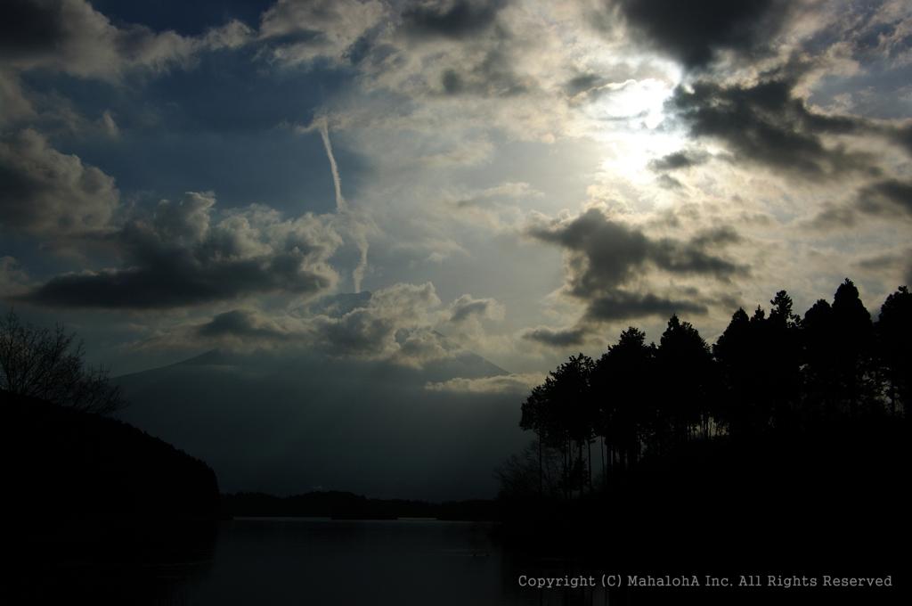 田貫湖の朝